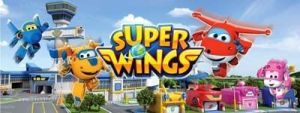 dibujos animados super wings