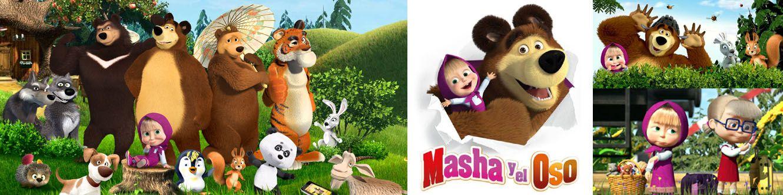 Personajes Masha Y El Oso Dibujos Animados