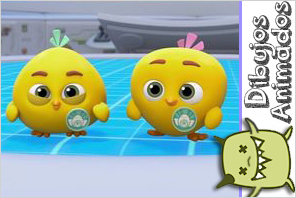Chirp y Cheep Top Wing personajes