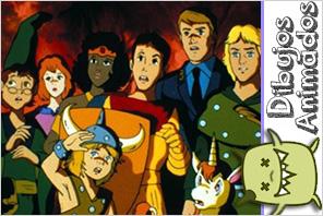 personajes dibujos animados dragones y madmorras