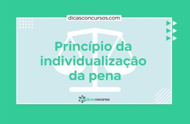Princípio da individualização da pena