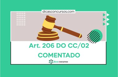 Art. 206 do CC [COMENTADO]