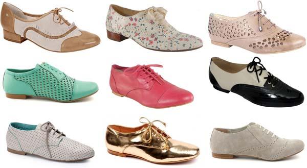 couromoda oxford semsalto Tendências em sapatos para o inverno 2011