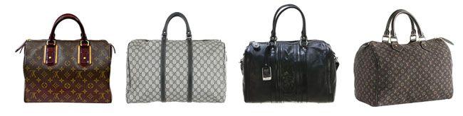 bau Tipos de bolsas femininas