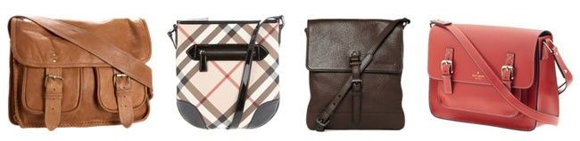 carteiro Tipos de bolsas femininas