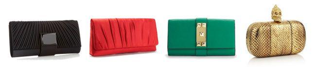 clutch Tipos de bolsas femininas