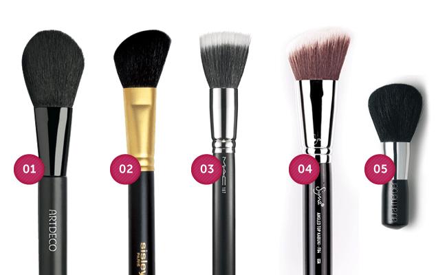 blush Guia do pincel de maquiagem: aprenda a fazer as escolhas certas