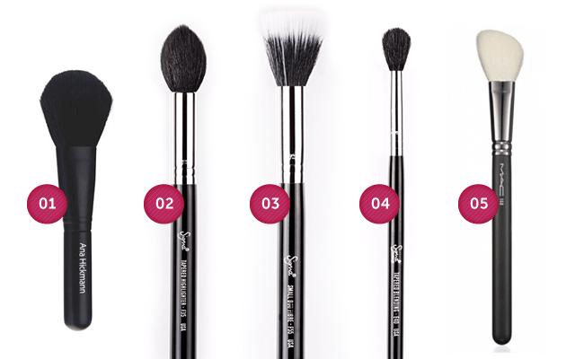 iluminador Guia do pincel de maquiagem: aprenda a fazer as escolhas certas