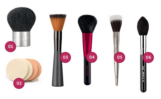 po Guia do pincel de maquiagem: aprenda a fazer as escolhas certas