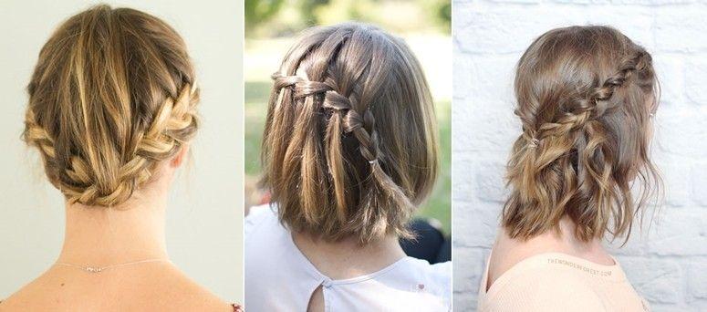 Resultado de imagem para cabelo curto penteados dia a dia praticos