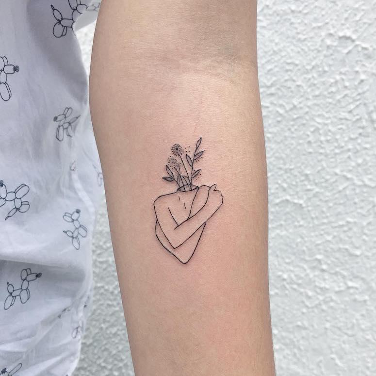 Tatuagem minimalista: 90 imagens incríveis e delicadas para se apaixonar