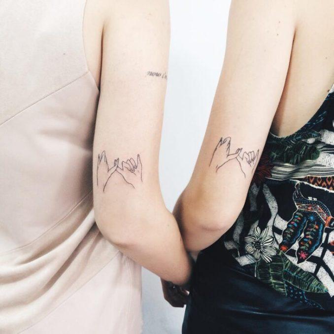 Tatuagem De Amizade 80 Inspiracoes Para Eternizar O Elo Entre Amigos
