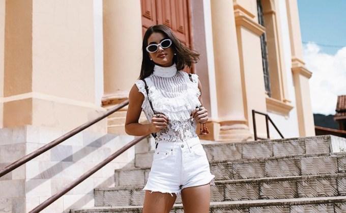 Quais as tendências de looks com shorts jeans em 2022?