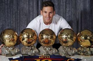 10 jogadores de futebol com mais prêmios individuais no futebol mundial