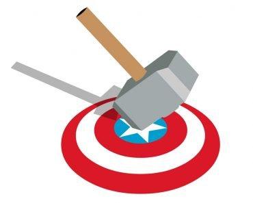 Podemos fazer o metal fictício usado no escudo do Capitão América?