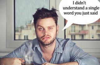 Por que é difícil ter uma conversa inteligente quando você está cansado?