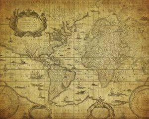 Cartografia: Como eles criaram mapas nos velhos tempos?