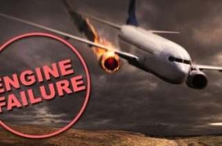 Como um avião ainda pode voar se um motor falhar?