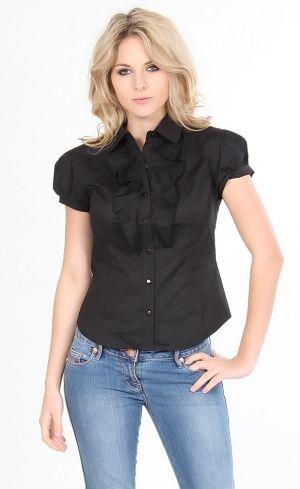 Camisas com Babado 7 Moda de Camisas Femininas com Babado