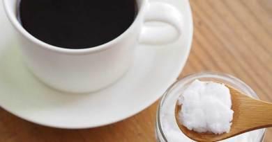 café e óleo de coco