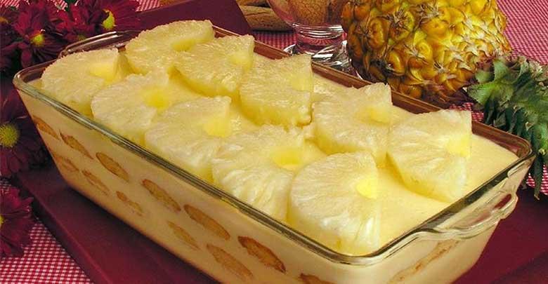 cassata de abacaxi