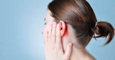 orelhas vermelhas