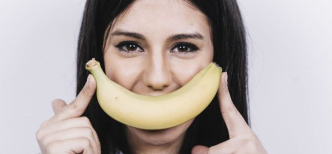 casca de banana dá energia
