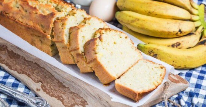 pão de banana fofinho como fazer