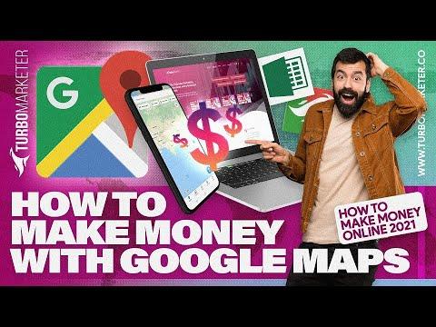 Como ganhar dinheiro com o Google Maps | Como Ganhar Dinheiro Online 2021