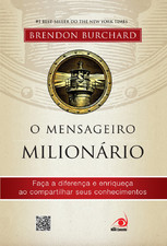 """Capa do livro """"O Mensageiro Milionário"""""""