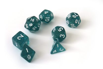 RPG Wuerfel Set Powder Blue