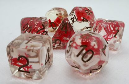 RPG Wuerfel Set Red Moss