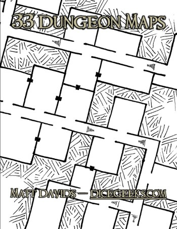 Dungeon Map Cover