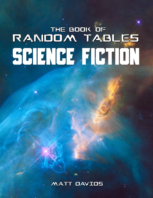 Science fiction random tables
