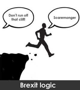 dont run off that cliff