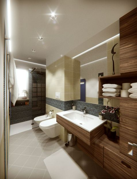 Bathroom - final version rendering