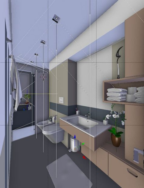 Bagno - wireframe