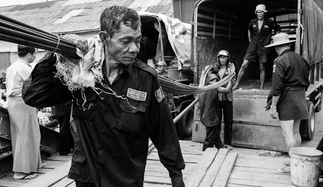 New Work: On the Docks – Burma