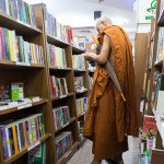 Monks are continually studying and learning.