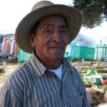 Man at Cemetary, Guatemala City