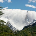Mount Torre Shrouded in Cloud, El Chalten, Argentina