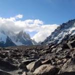 Glacial Moraine, Mount Fitz Roy, Argentina