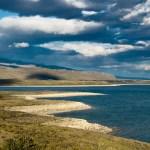 Serpentine Shoreline, Lake Sarmiento , Torres del Paine, Chile