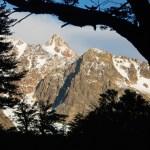 Silhouette, Mount Piedras Blancas, Argentina