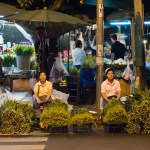NIght Flower Market, Bangkok