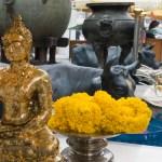 Gold Leafed Buddha, Bangkok