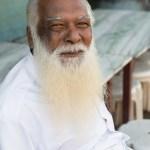Man in white, Kanyakumari