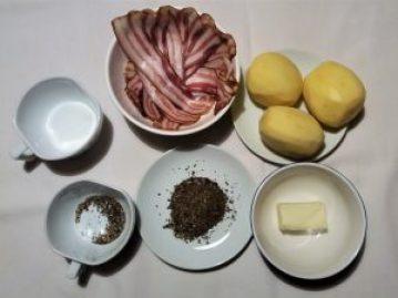 Hasselback krompir sastojci