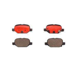 Rear Ceramic OE Brembo Brake Pads (Fiat/Abarth 500)