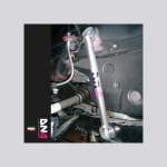DNA Racing Front Lateral Subframe Tie Rod Kit (Fiat/Abarth 500)